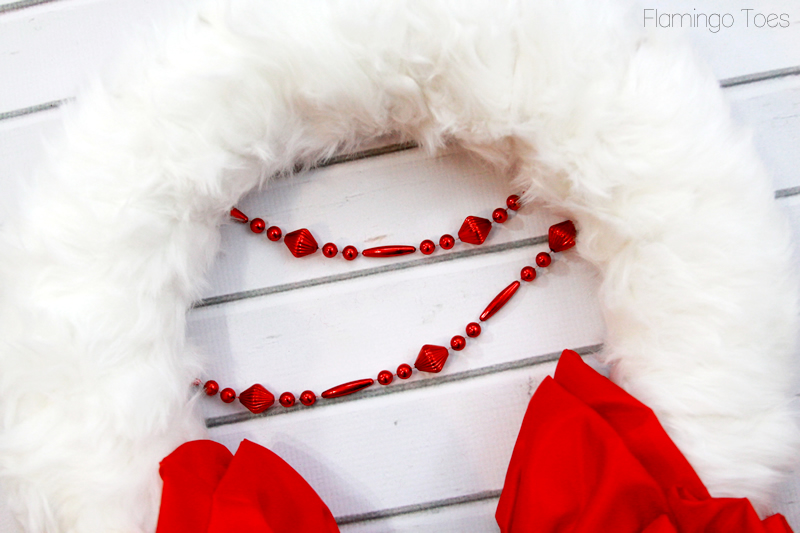 Christmas Beaded Garland