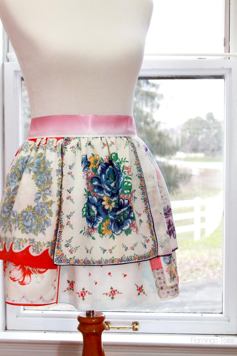 DIY Handkerchief Apron