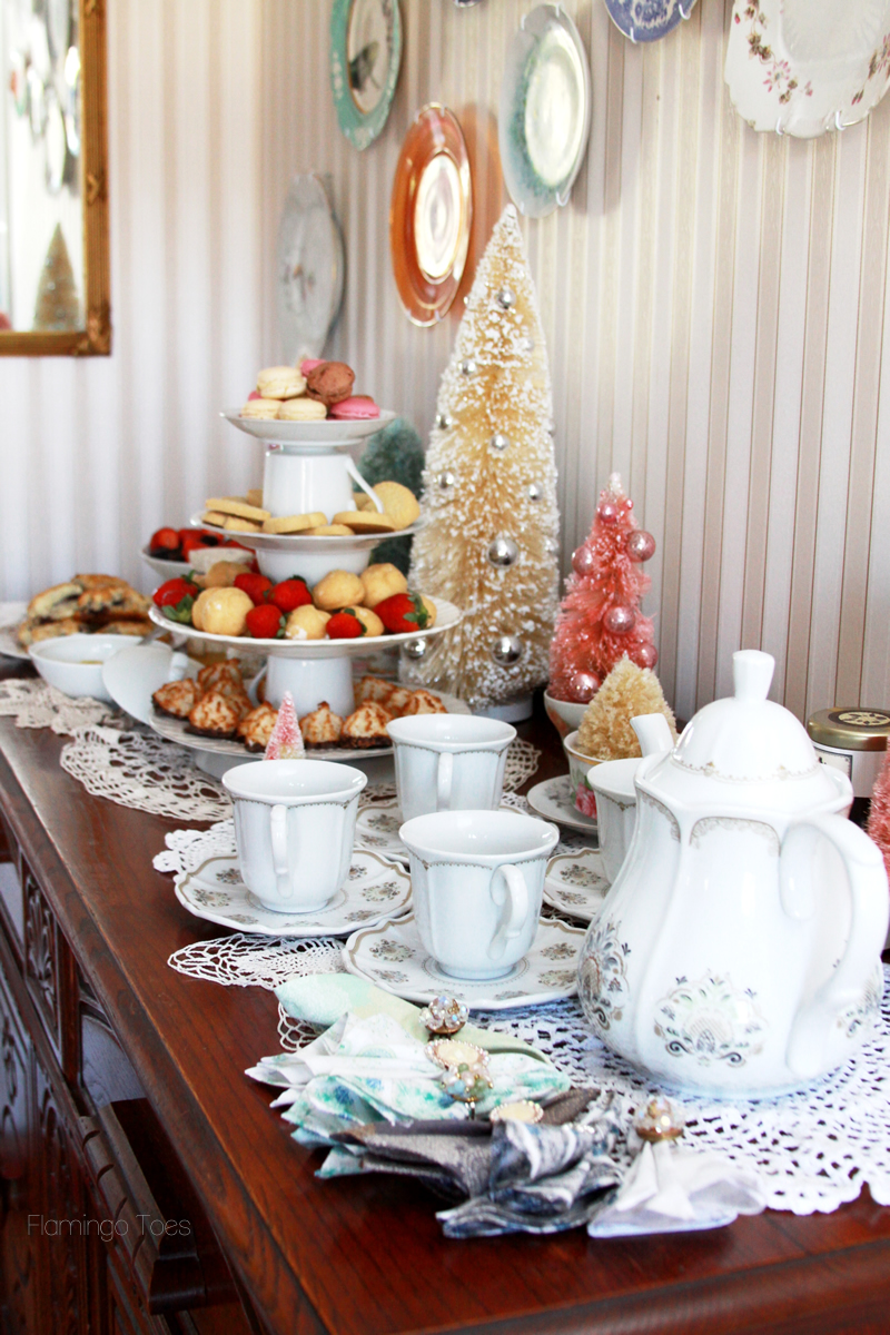 Downton Abbey Inspired Tea Party