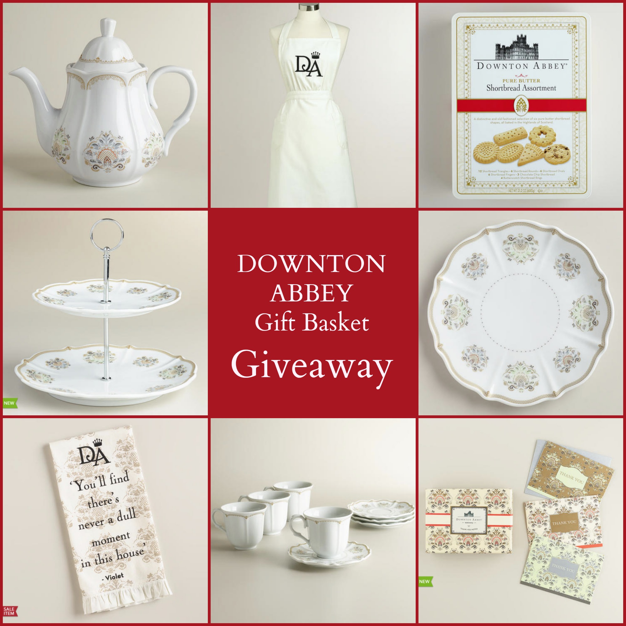 Downton Abbey TT Giveaway