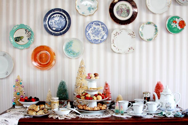 Downton Abbey Tea Party Display