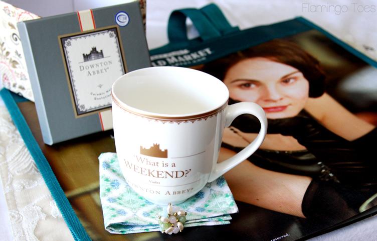 Downton Abbey Tea Party Favors
