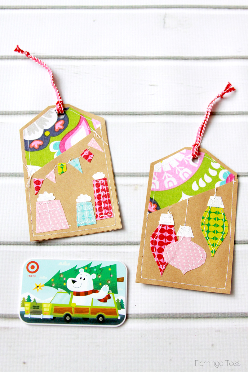 Easy Christmas Gift Card Holders