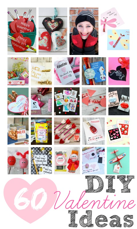 60 DIY Valentine Ideas - so many cute projects here!