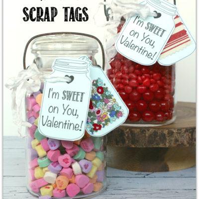Mason Jar Valentine Tags