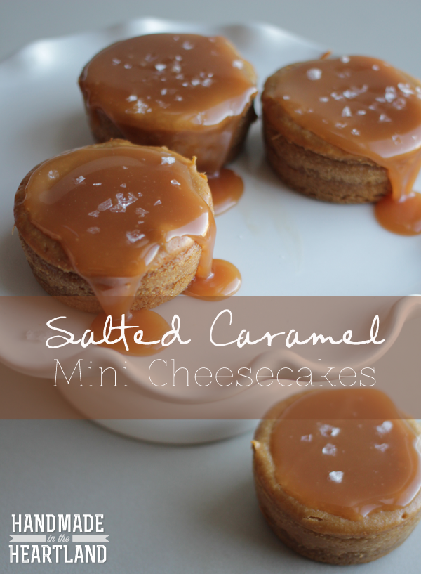 Salted-Caramel-Mini-Cheesecakes