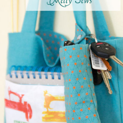 DIY Snap-On Bag Organizer