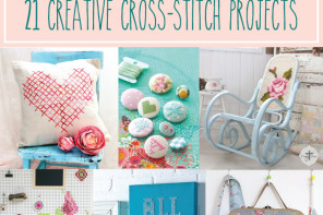 21 Creative Cross Stitch Proj