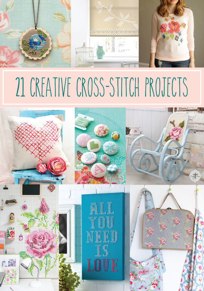 21 Creative Cross Stitch Projects