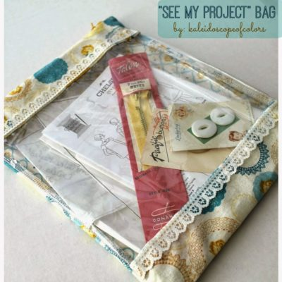 See-Through Project Bag
