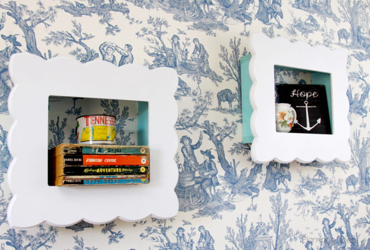 Easy Framed Shadowboxes