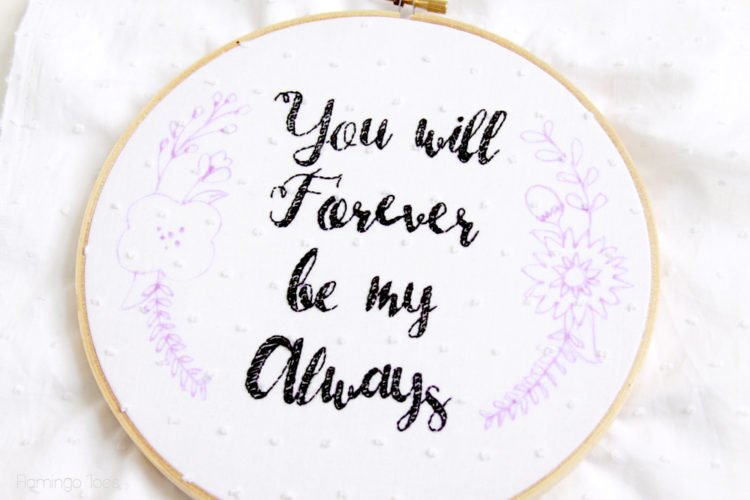 Embroidery-Phrase