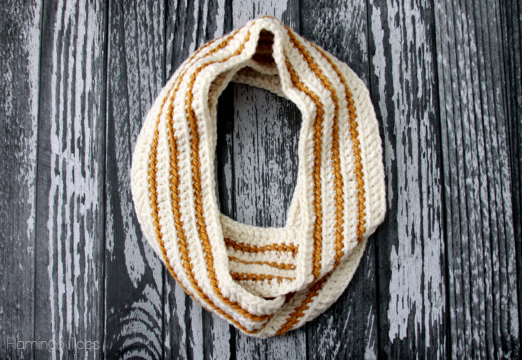 Striped-Crochet-Scarf