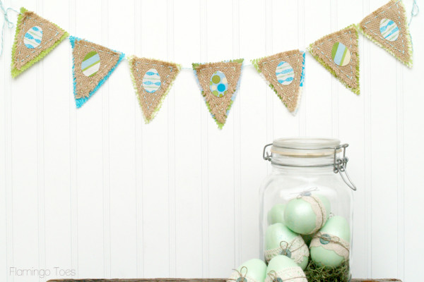 Burlap-and-Fabric-Easter-Bunting
