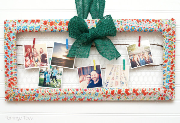 Fabric-Wrapped-Photo-Frame