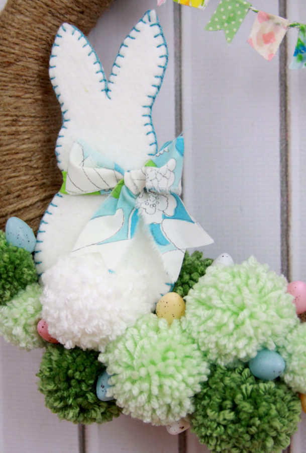 Felt-Bunny-Easter-Wreath
