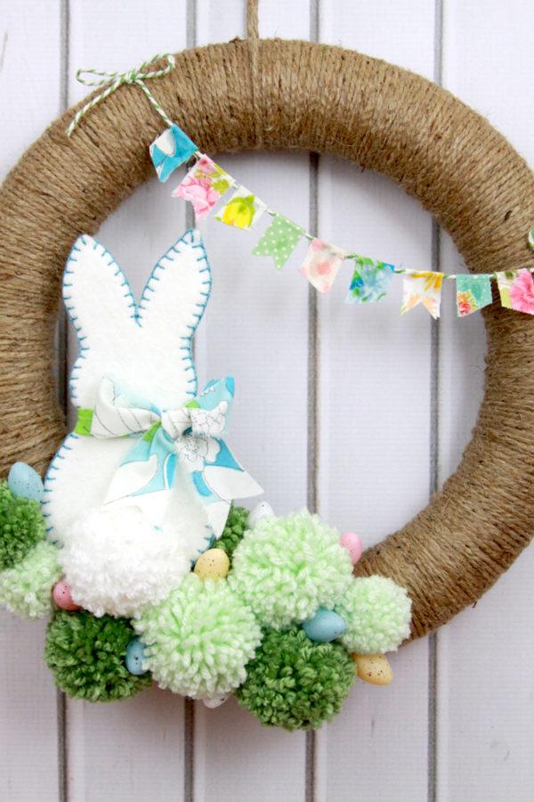Spring-Jute-Wreath