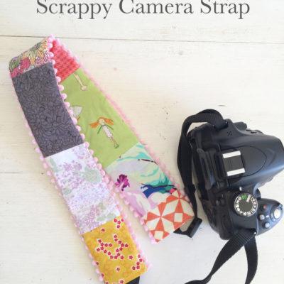 Scrappy Camera Strap