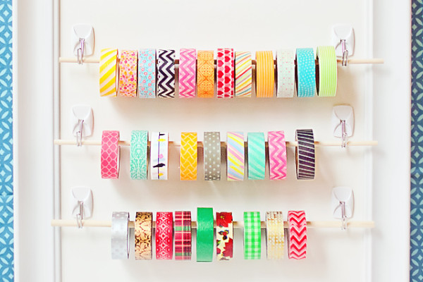 washi-tape-organization