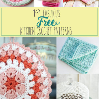 19 Fabulous Kitchen Crochet Patterns
