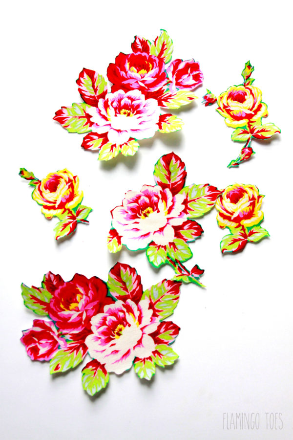 Fabric-Flowers-and-Fusible-Webbing