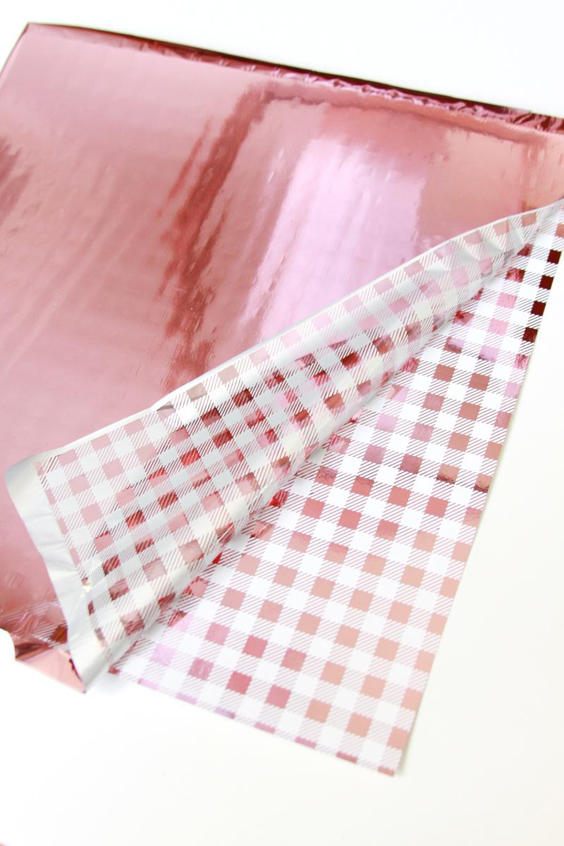 Pink-Gingham-Foil