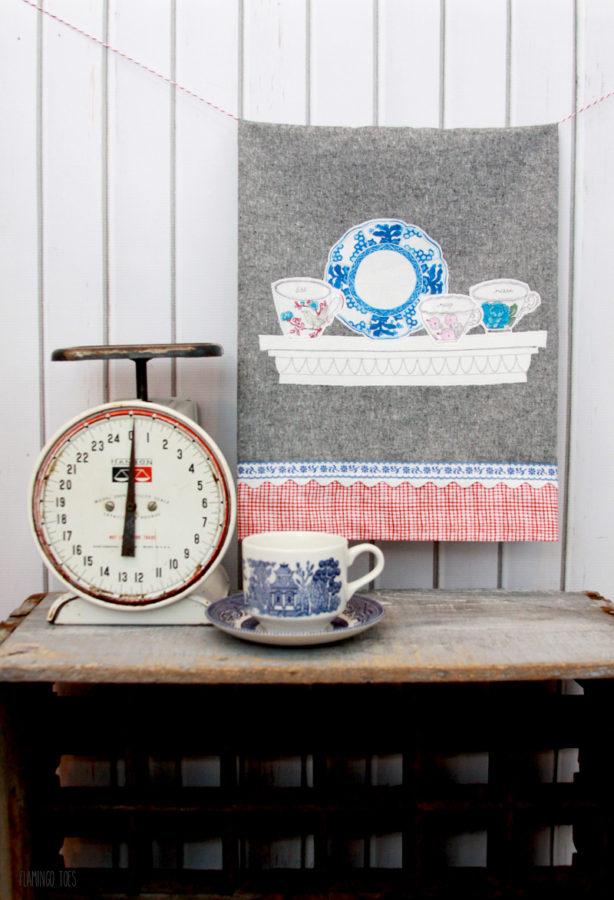 Vintage-Style-Tea-Cup-Dishtowel