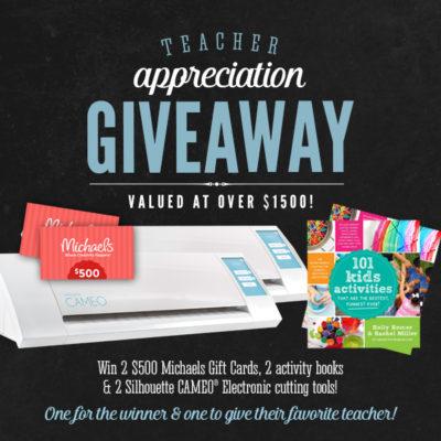 Teacher Appreciation Giveaway