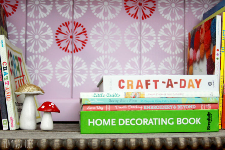 Craft Book Shelving