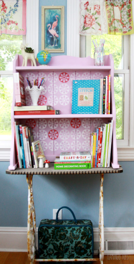 Craft Room Bookshelf