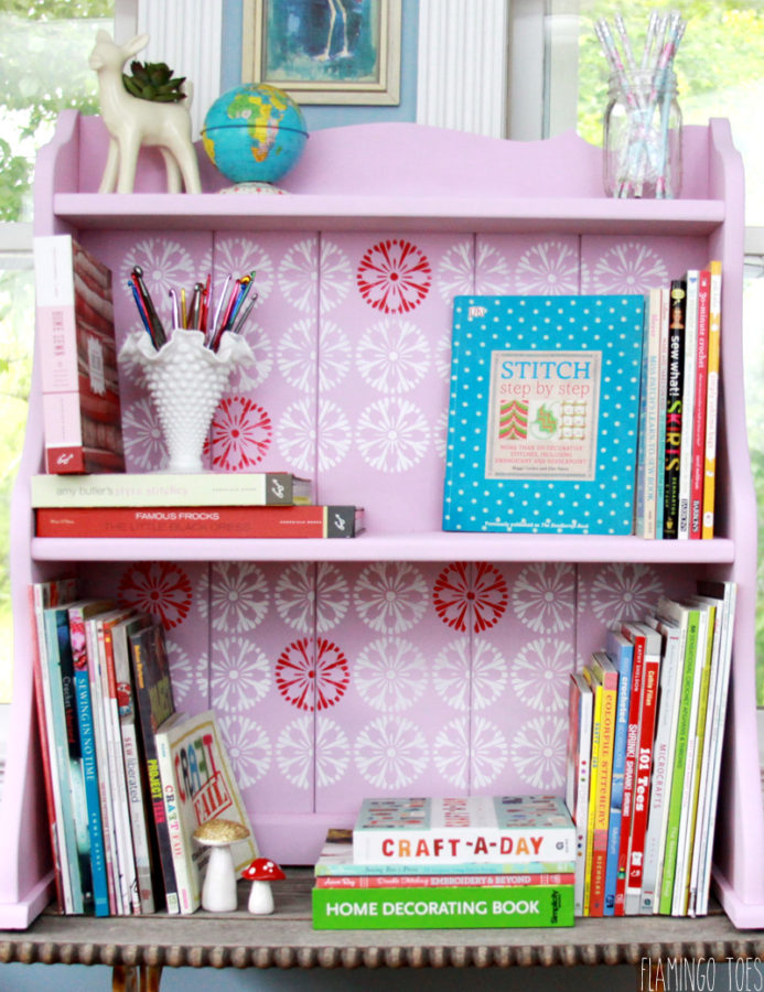 Craft Room Storage Shelf