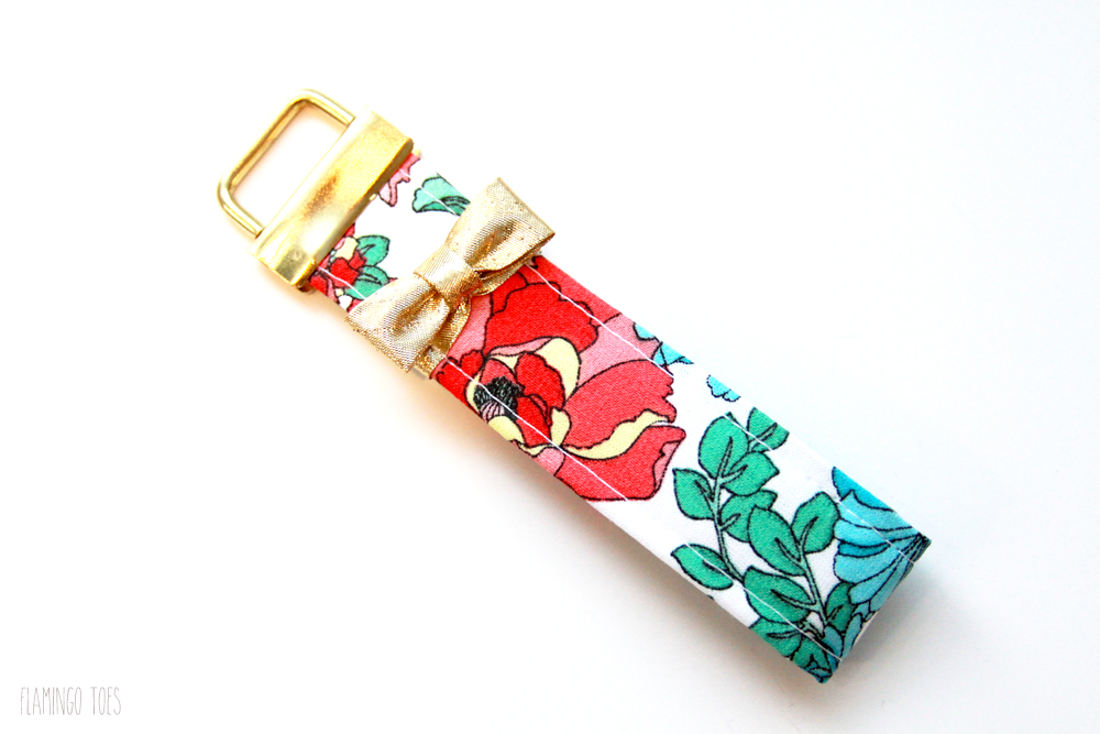 Easy-Floral-DIY-Key-Fob