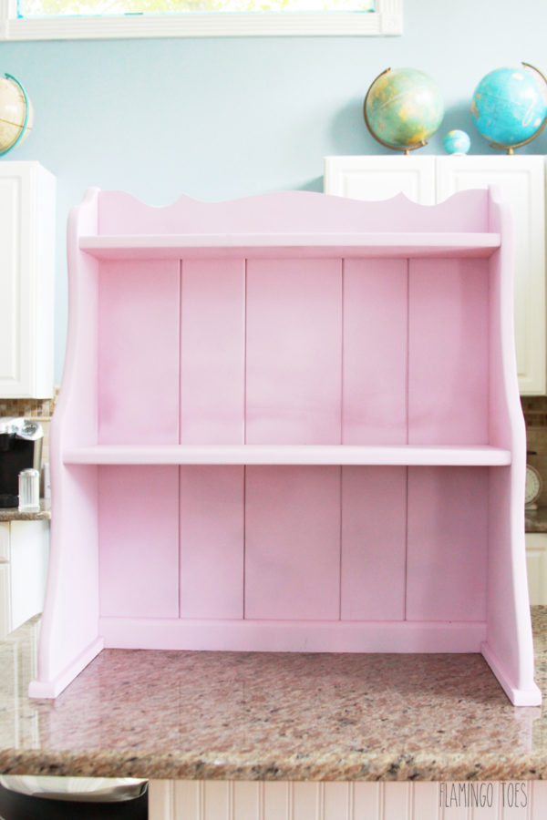 Pink Hutch Shelf