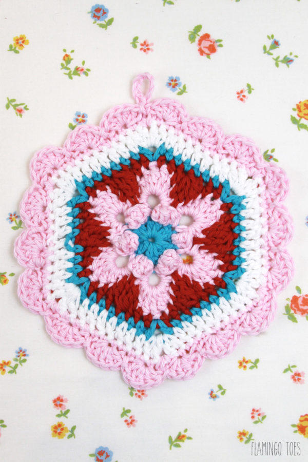 Retro Crochet Potholder