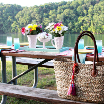 Simple Vintage Style Picnic Party