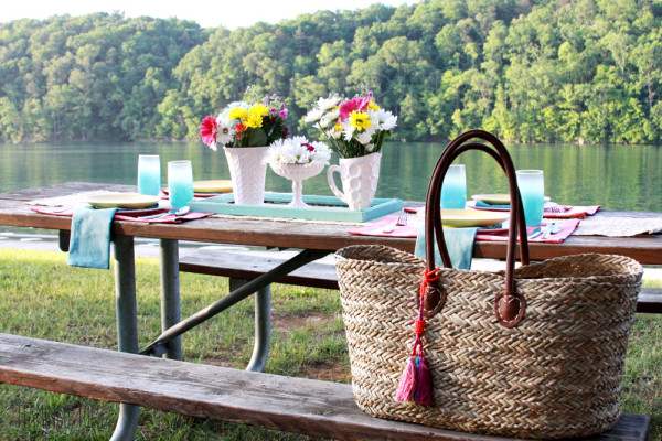 Simple Vintage Rustic Picnic
