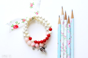 30 Minute Teacher Gift Charm Bracelet
