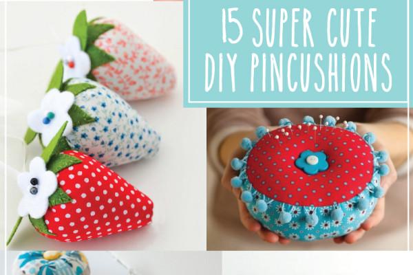 15 Super Cute DIY Pincushions