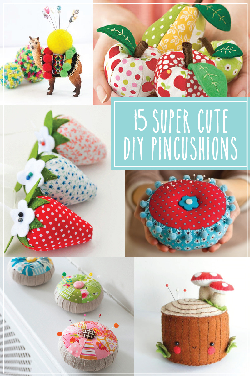 15 Super Cute DIY Pincushions