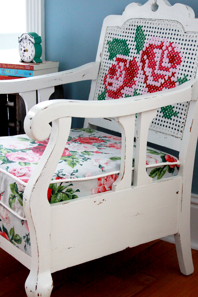 Chalk Paint Powder Chair Refinish
