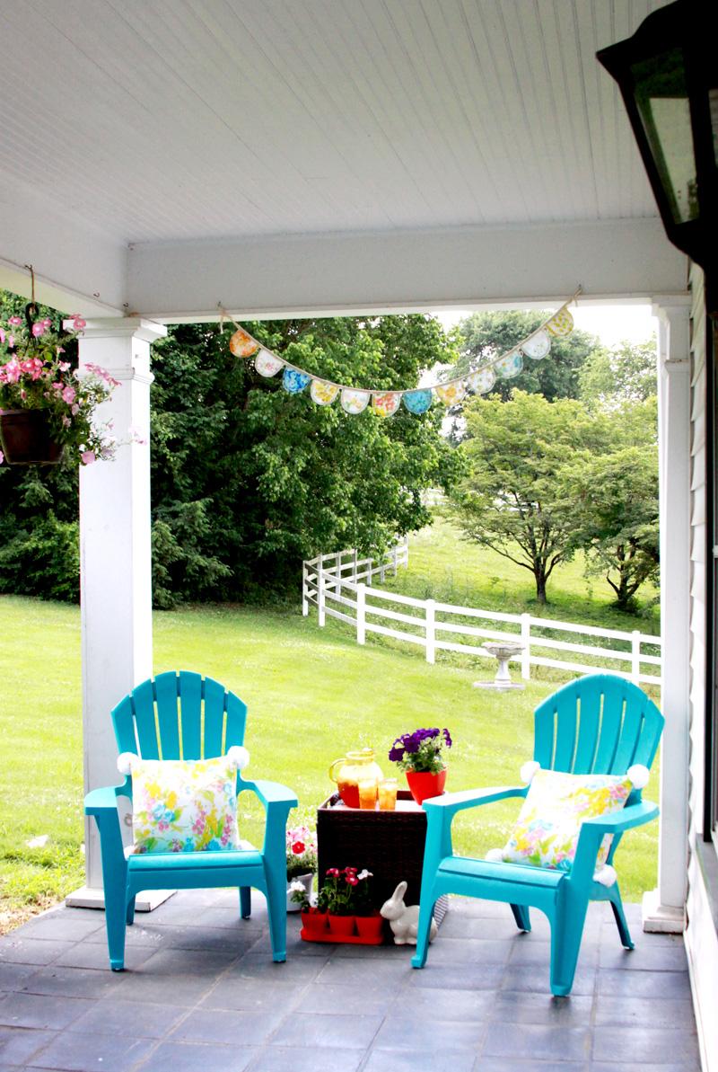Easy Summer Porch Decor