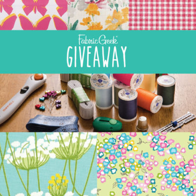 Fabric Geek Gift Card Giveaway