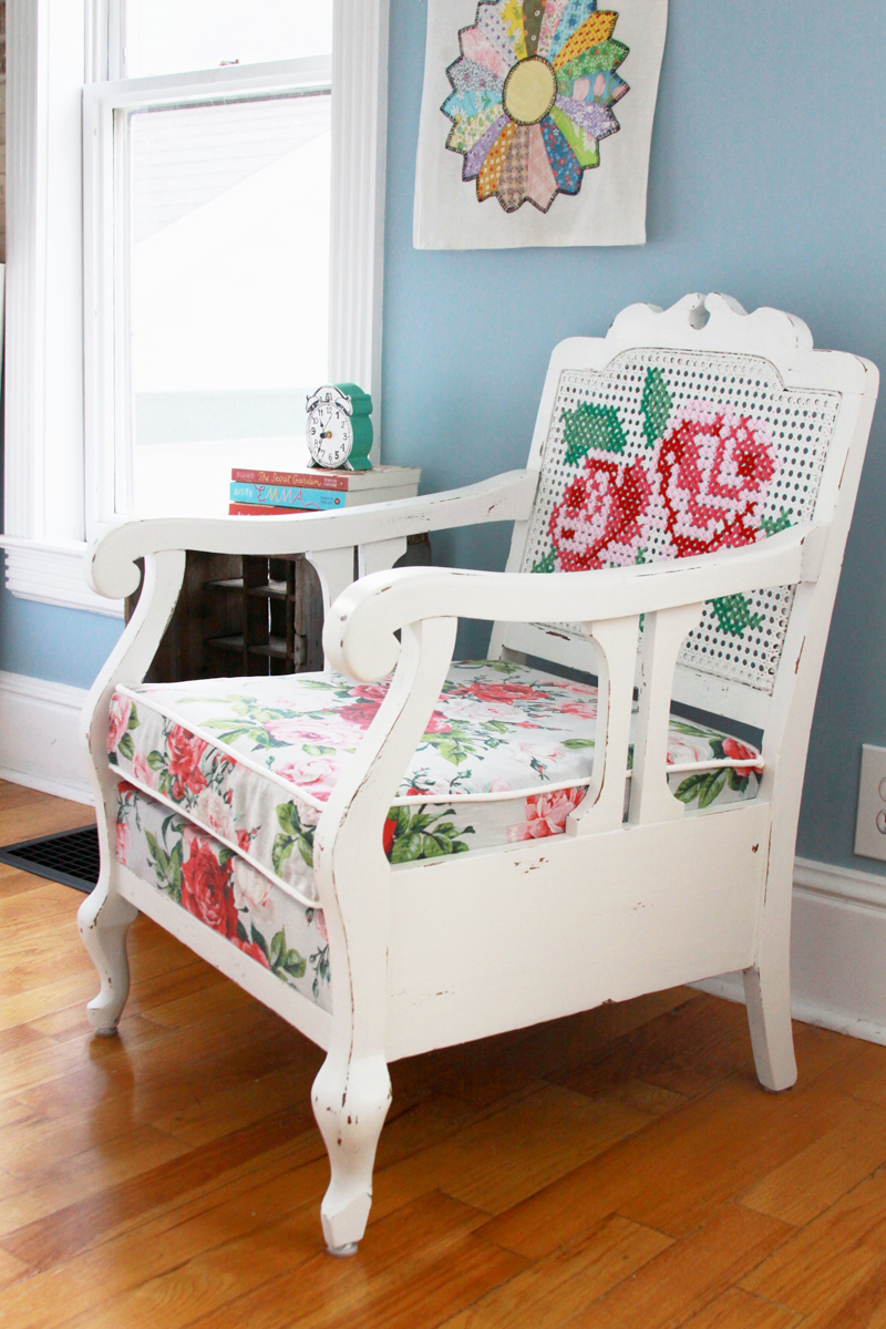 Painted Chair Refinish