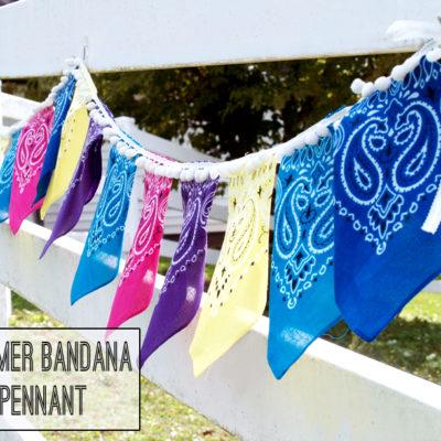 Easy Bandana Pennant Banner