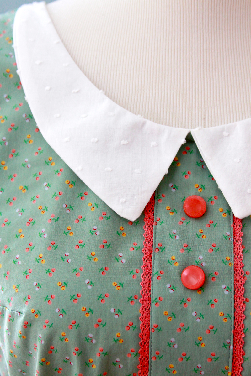 Pretty Vintage Style Collar for Sundress