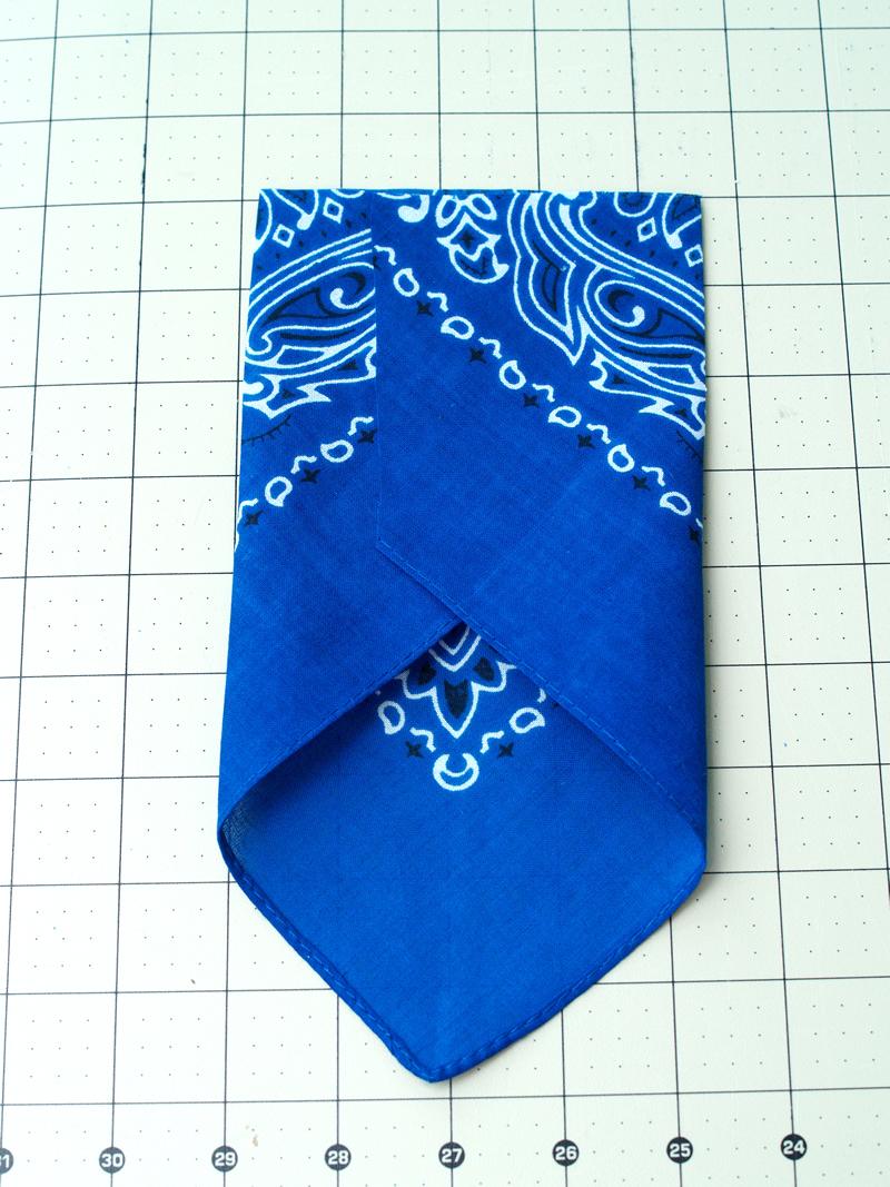 folding bandana