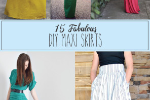 Fabulous DIY Maxi Skirts