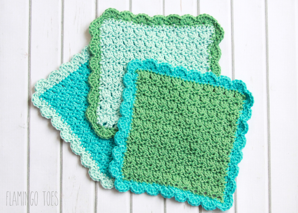 Easy Crochet Dish Cloth Pattern -
