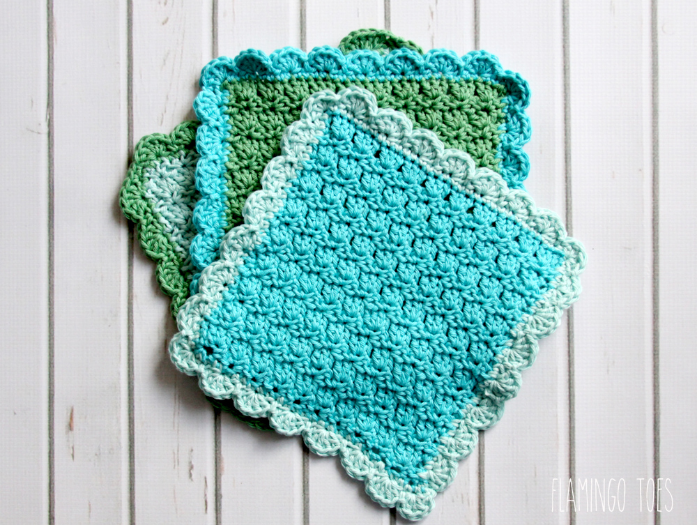 Easy Crochet Dish Cloth Pattern