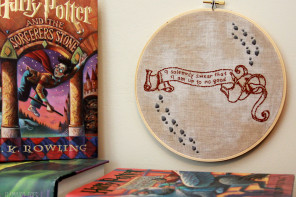 I Solemnly Swear – Harry Potter Hoop Art